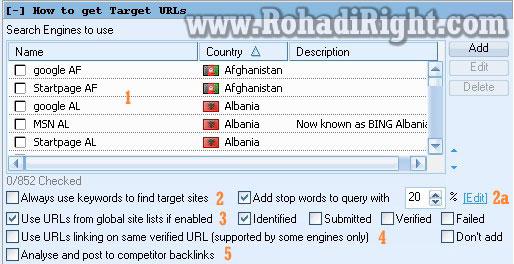 How to Target URLs