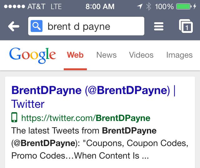 Google Mobile Friendly Icon di halaman pencarian (SERP)
